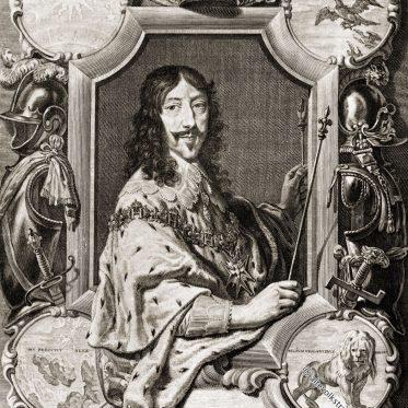 Ludwig XIII., König von Frankreich 1610-1643.