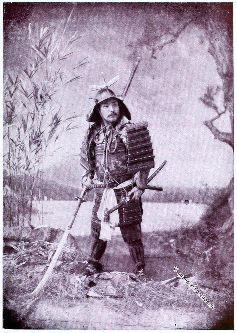 Captain F. Brinkley, Samurai, Samuraischwert, Rüstung, Kostüm, Japan, Kazuma Ogawa