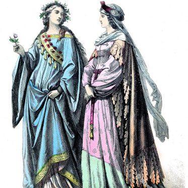Zatteln, Schnabelschuhe, Schellen im 15. Jahrhundert.