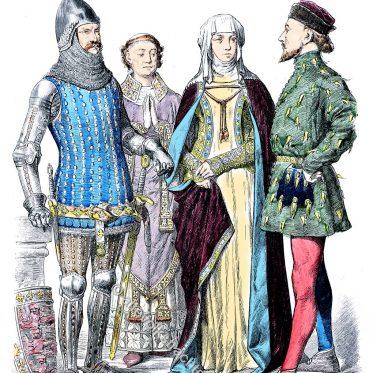 Mode in England zur Zeit Eduard III. 14. Jh.