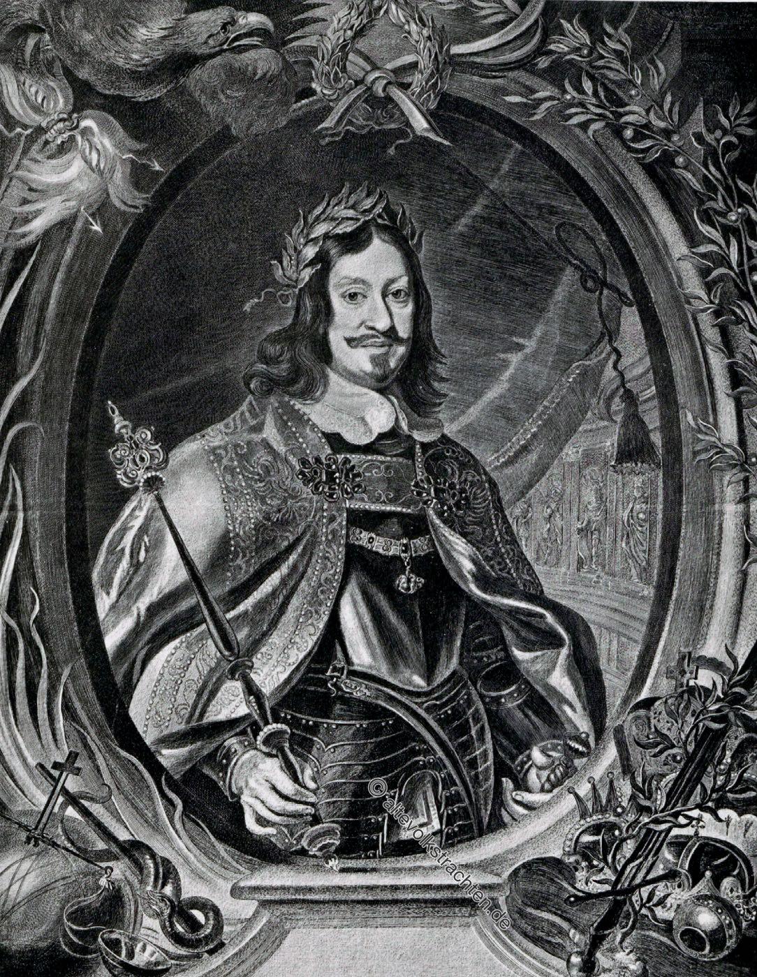 Ferdinand III, Deutscher Kaiser, Barock, Dreissigjähriger Krieg