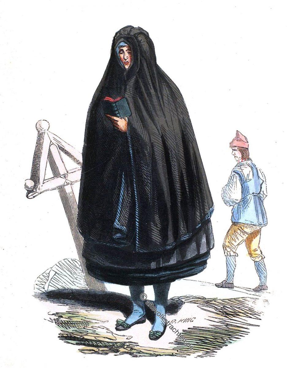 Femme de Torna-Harad Scanie. Paysan de Jerfso (Helsingie). - Woman from Torna Hällestad, Sweden. Man from Helsinki, Finland.