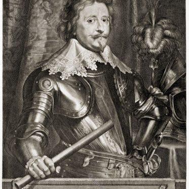 Friedrich Heinrich von Oranien, Statthalter der Niederlande 1625 - 1647.