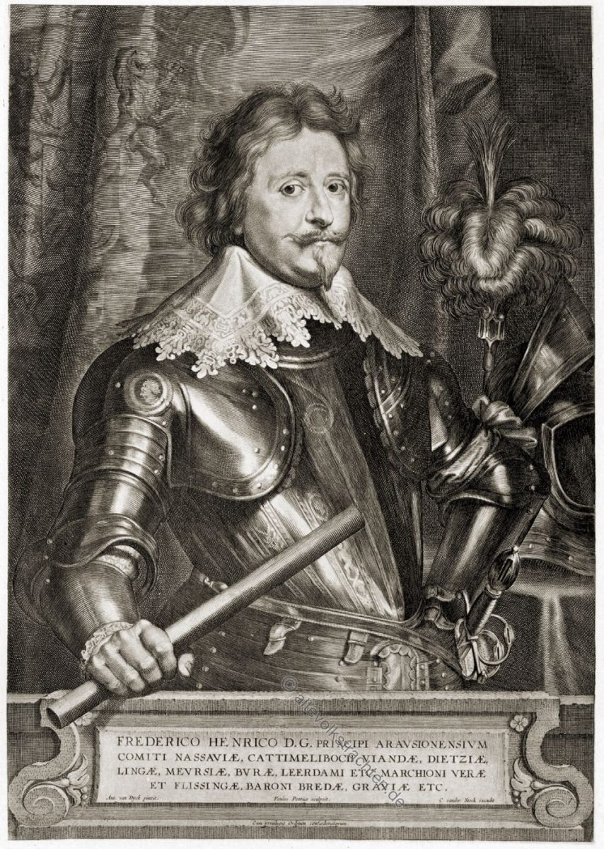 Friedrich Heinrich von Oranien, Statthalter, Niederlande, Barock, Soldat, Rüstung