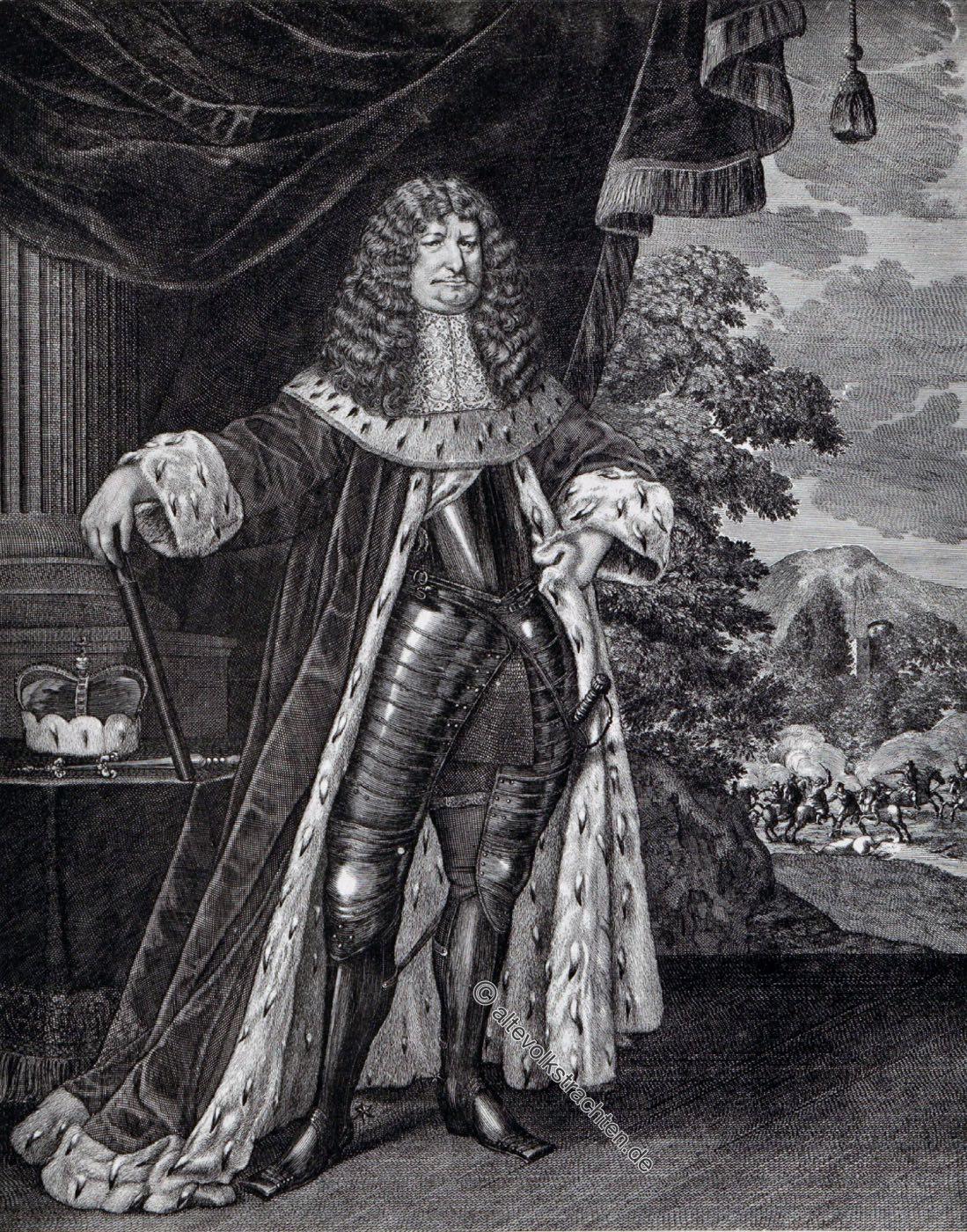 Friedrich Wilhelm, Kurfürst, Brandenburg, Preussen, Barock, Dreissigjähriger Krieg, Kostüm,