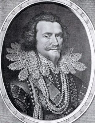 George Villiers Herzog von Buckingham.