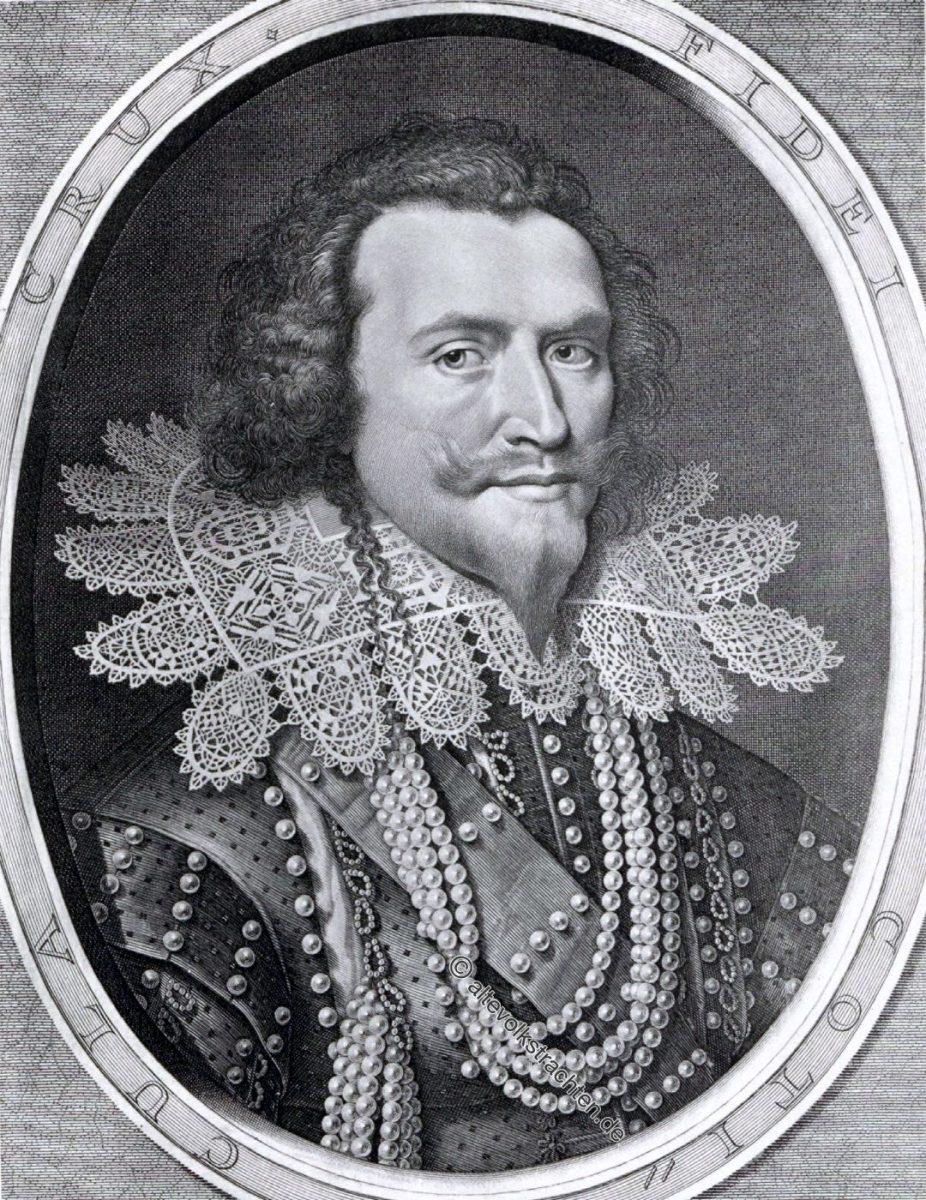 George Villiers, Herzog von Buckingham, Barock, Modegeschichte, England, Politiker, 17. Jahrhundert