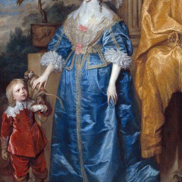 Henriette Maria, Königin von England, 17. Jh.