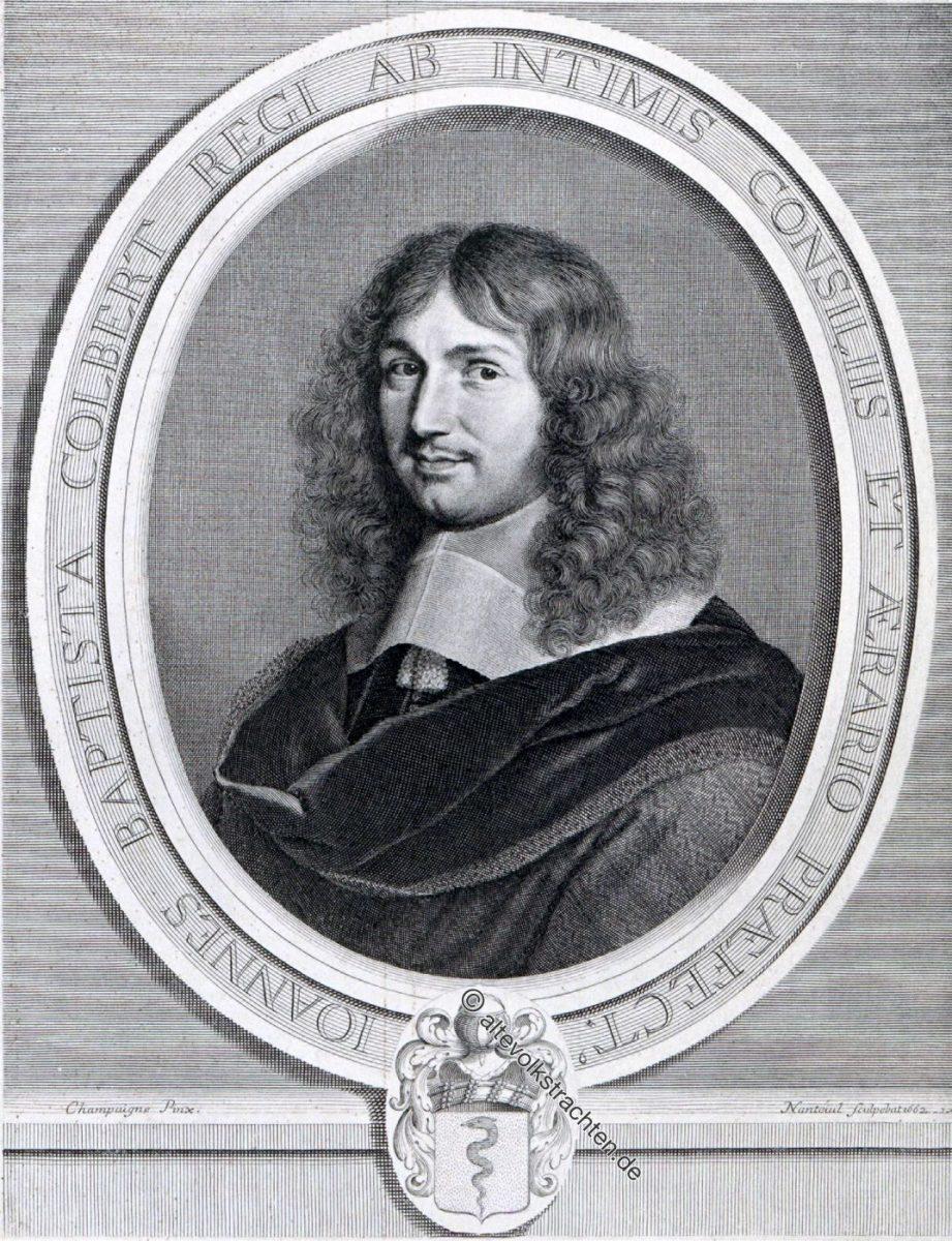 Jean-Baptiste Colbert, Marquis de Seignelay, Finanzminister unter Ludwig XIV.