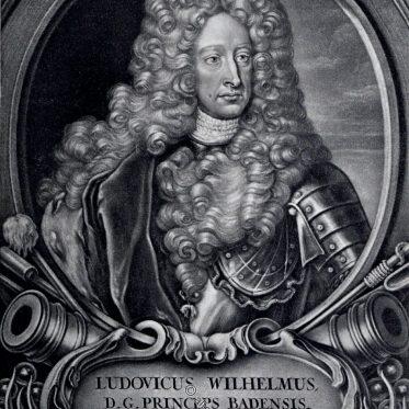 Ludwig Wilhelm, Markgraf von Baden auch Türkenlouis genannt.