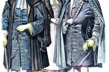 Brautkrone, Münchener Bilderbogen, Mode, Barock, Strassburg, Kostüme, Bäuerin, Braut, Turmhüter, Hochzeiter,