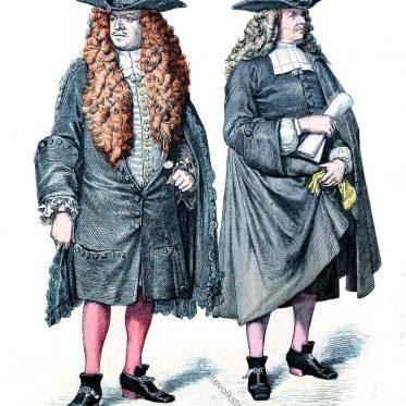 Kostüme Strassburger Ratsherr und Konsul im 17. Jh.