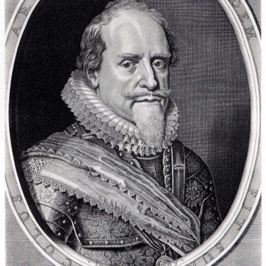 Moritz, Prinz von Oranien, Statthalter der Niederlande 1585 - 1625.