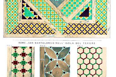 Mosaik, Rom, San Bartolomeo all'Isola, San Giovanni in Laterano,
