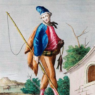 Mann aus Chiaia, Süditalien um 1780