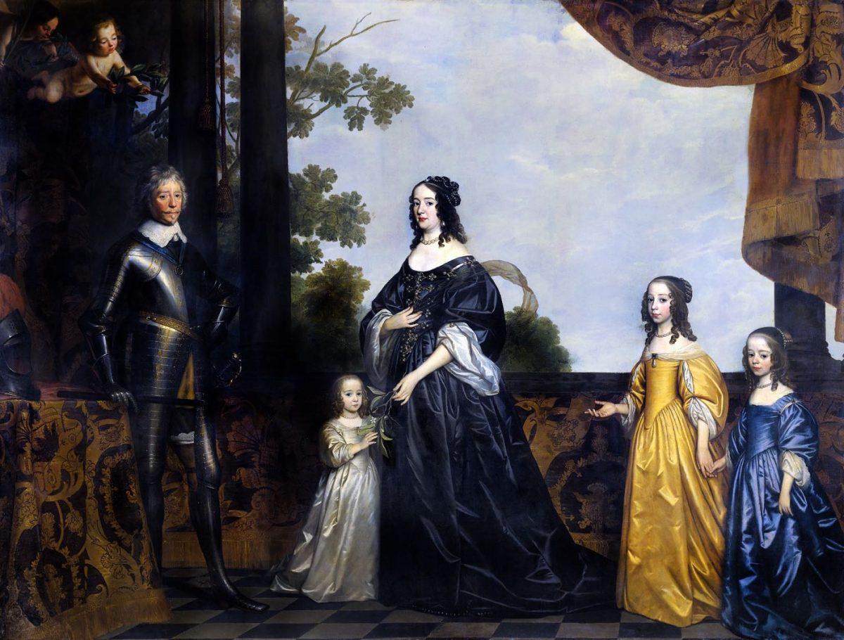 Gerrit van Hondhorst, Friedrich Heinrich, Prinz von Orange, Amalia von Solms-Braunfels