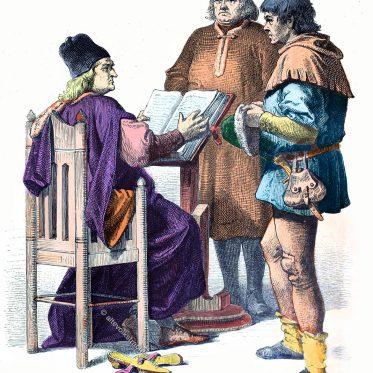 Richter, Bürger, Bauer. Kleidung im 15. Jh.