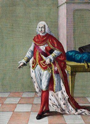 Ritter des Januariusorden von Neapel. Cavaliere dell'Ordine di S. Gennaro di Napoli.