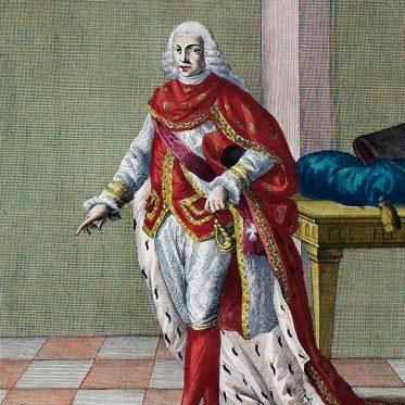 Ritter des Januariusorden, Italien 18. Jh.