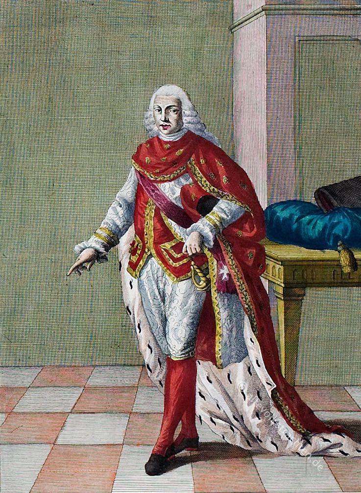 Cavaliere, dell'Ordine, S. Gennaro, Napoli, Januariusorden, Ritter, Italien, costume, Kostüm