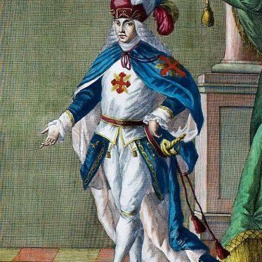 Ritter des Konstantinischen Ordens im 18. Jh
