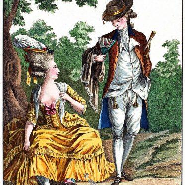 Die Mode des Barock und Rokoko im 17. u. 18. Jahrhundert.