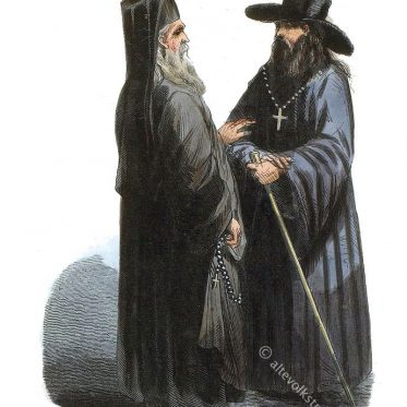Russisch-Orthodoxe Geistliche.