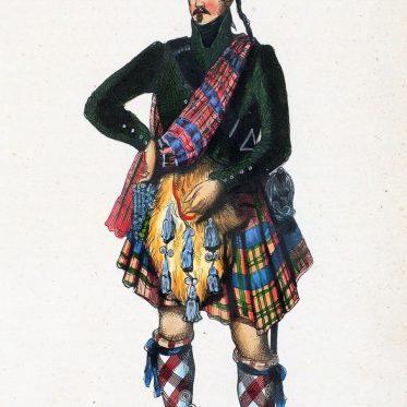 Schottischer Clan Chief um 1840.