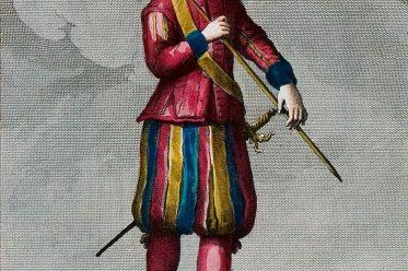 Leibwächter, Leibwache, Schweizer Soldat, Gesandter, Bologna, Italien,