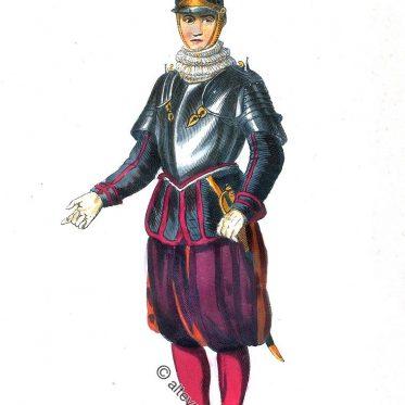 Schweizer Sergeant der Papstgarde.
