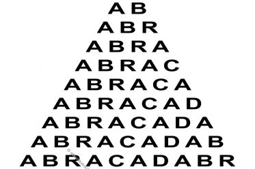 Abrakadabra, Abrakalanisch, Arakalanisch, Abraxas,