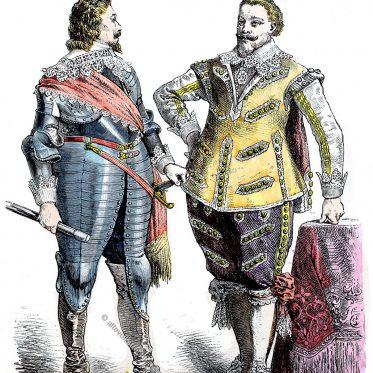 Fürstliche Tracht. Deutschland 1625-1640.