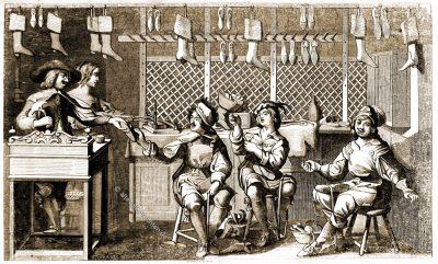 Magasin, Cordonnier, Abraham Bosse, Louis XIII, Baroque, costume, Atelier,