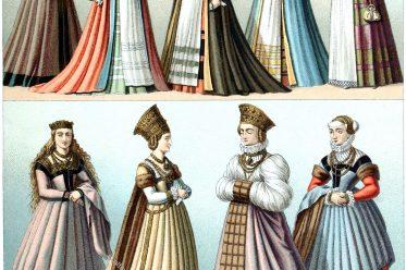 Renaissance, Mode, Kostüme, Tracht, Deutschland