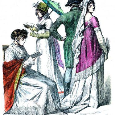 Deutsche und französische Mode 1802-1804.
