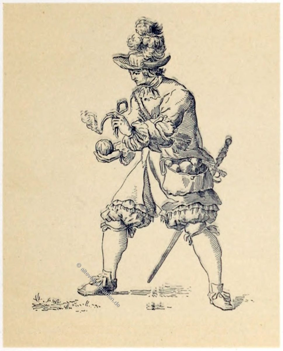 Grenadier, Infanterie, Militär, Frankreich, Louis XIII, Louis XVI, Barock, Soldat,