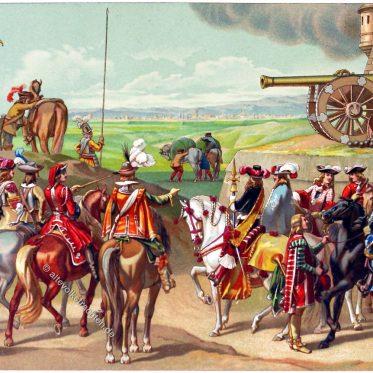 Uniformen der französischen Armee im 17. Jh.