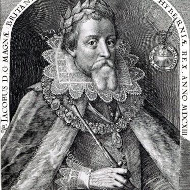 Jakob I., König von England, 1603-1625.