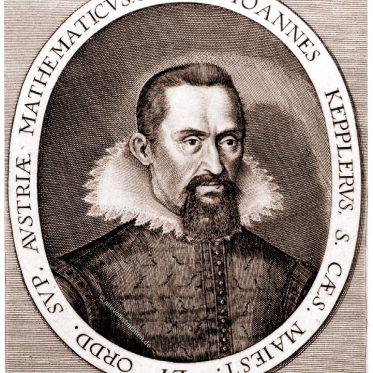 Johannes Kepler, deutscher Astronom, Mathematiker und Astrologe.