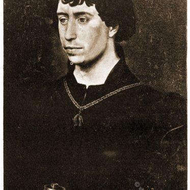Karl der Kühne, Herzog von Burgund.