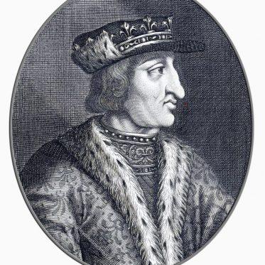 Karl VI., König von Frankreich von Nicolas de Larmessin.