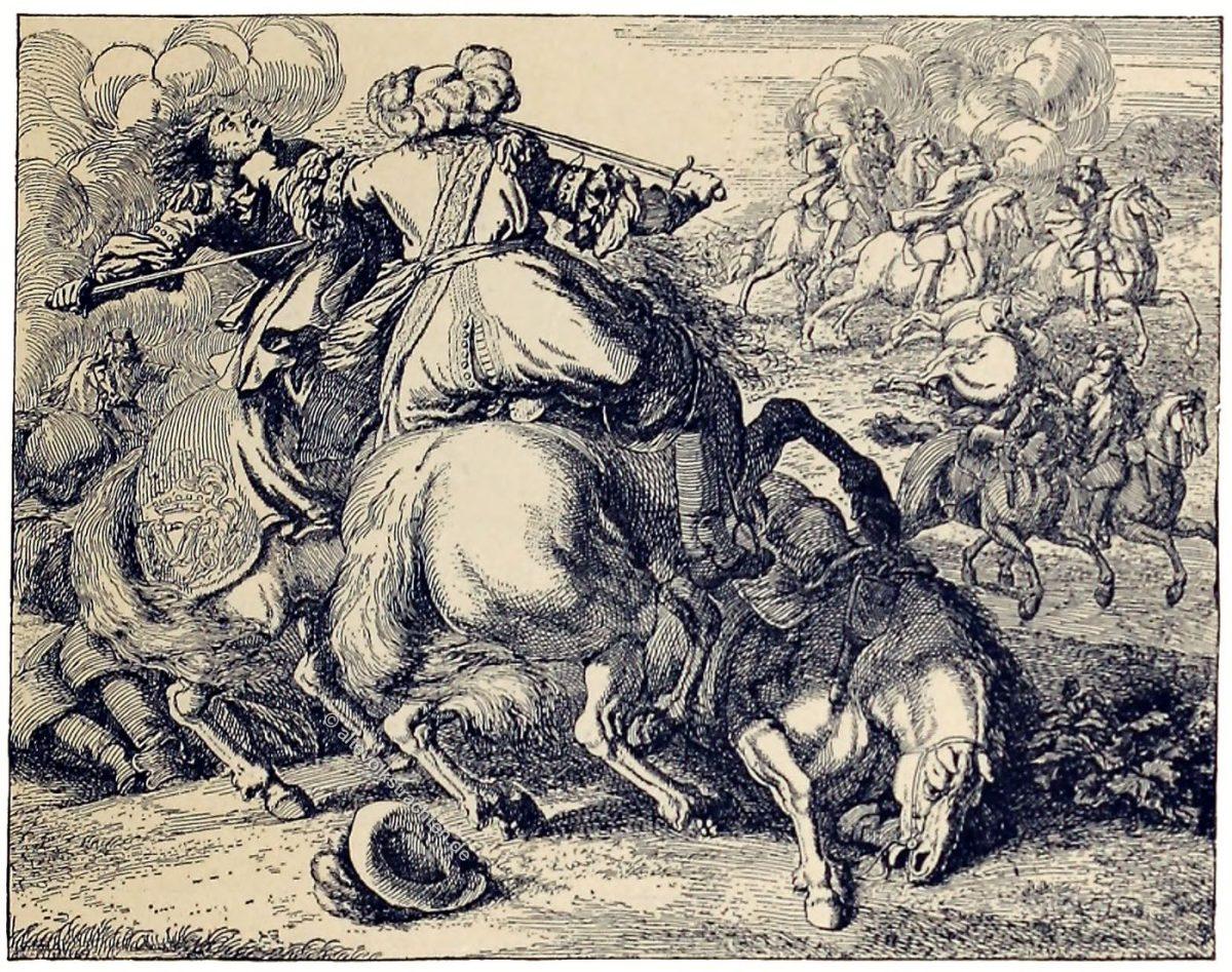 Messerkampf, Kavallerie, Uniformen, Militär, Frankreich, Louis XIII, Louis XVI, Barock, Soldat,