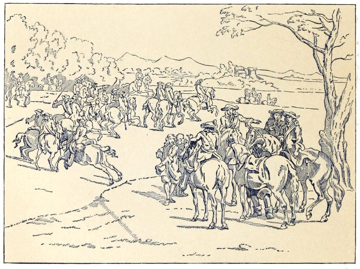Kavallerie, Uniformen, Militär, Frankreich, Louis XIII, Louis XVI, Barock, Soldat,