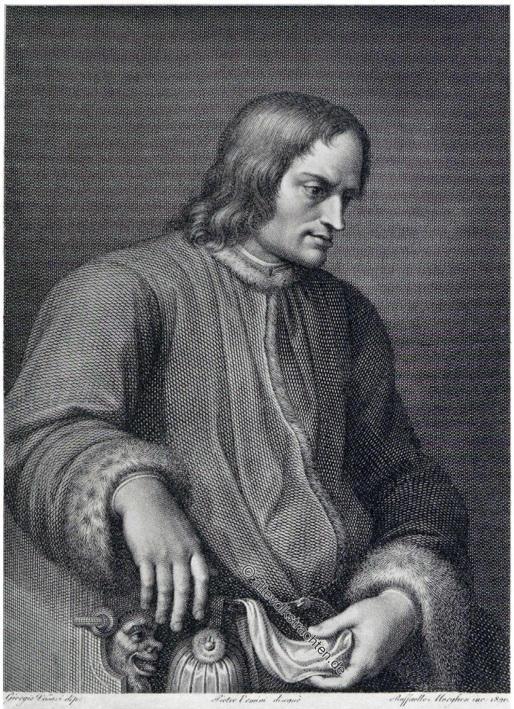 Lorenzo de' Medici, Renaissance, Italien, Portrait, Kostüm