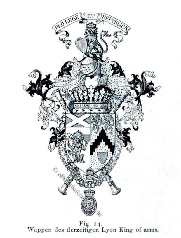 Lyon King of arms, Wappen, Heraldik, Herolde, Heralds,