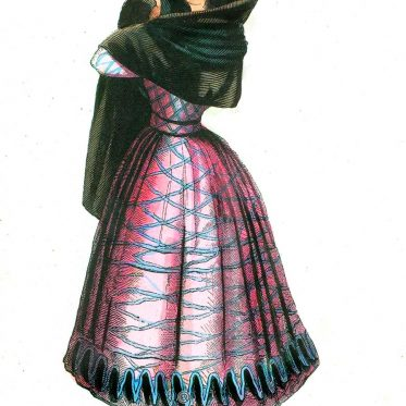 Manola. Spanische Dame. Demoiselle Espagnole