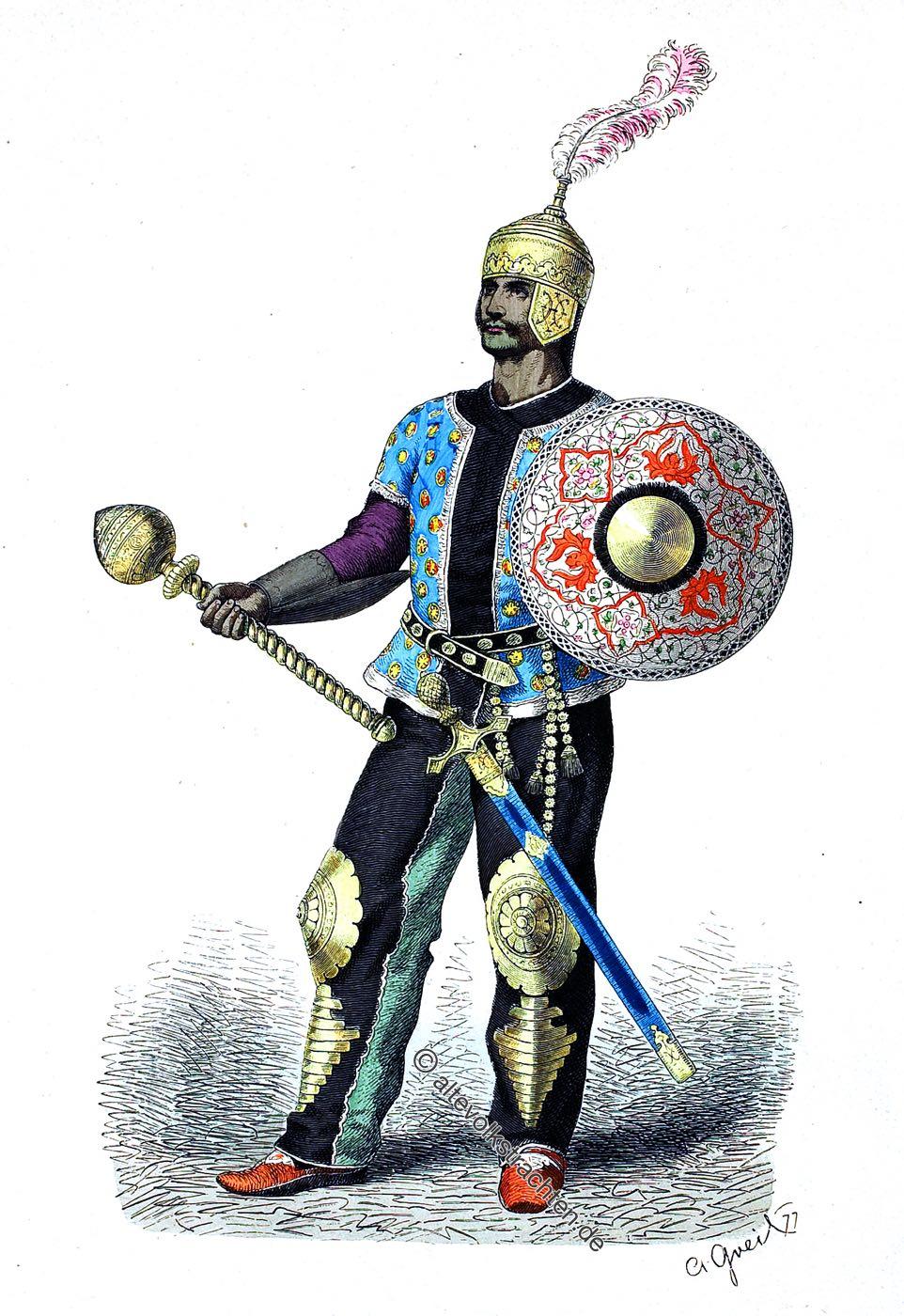 Lipperheide, General, Heerführer, Persien, Mittelalter, persisches Reich