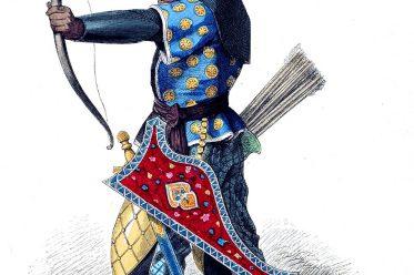 Lipperheide, Soldat, Persien, Mittelalter, Bogenschütze