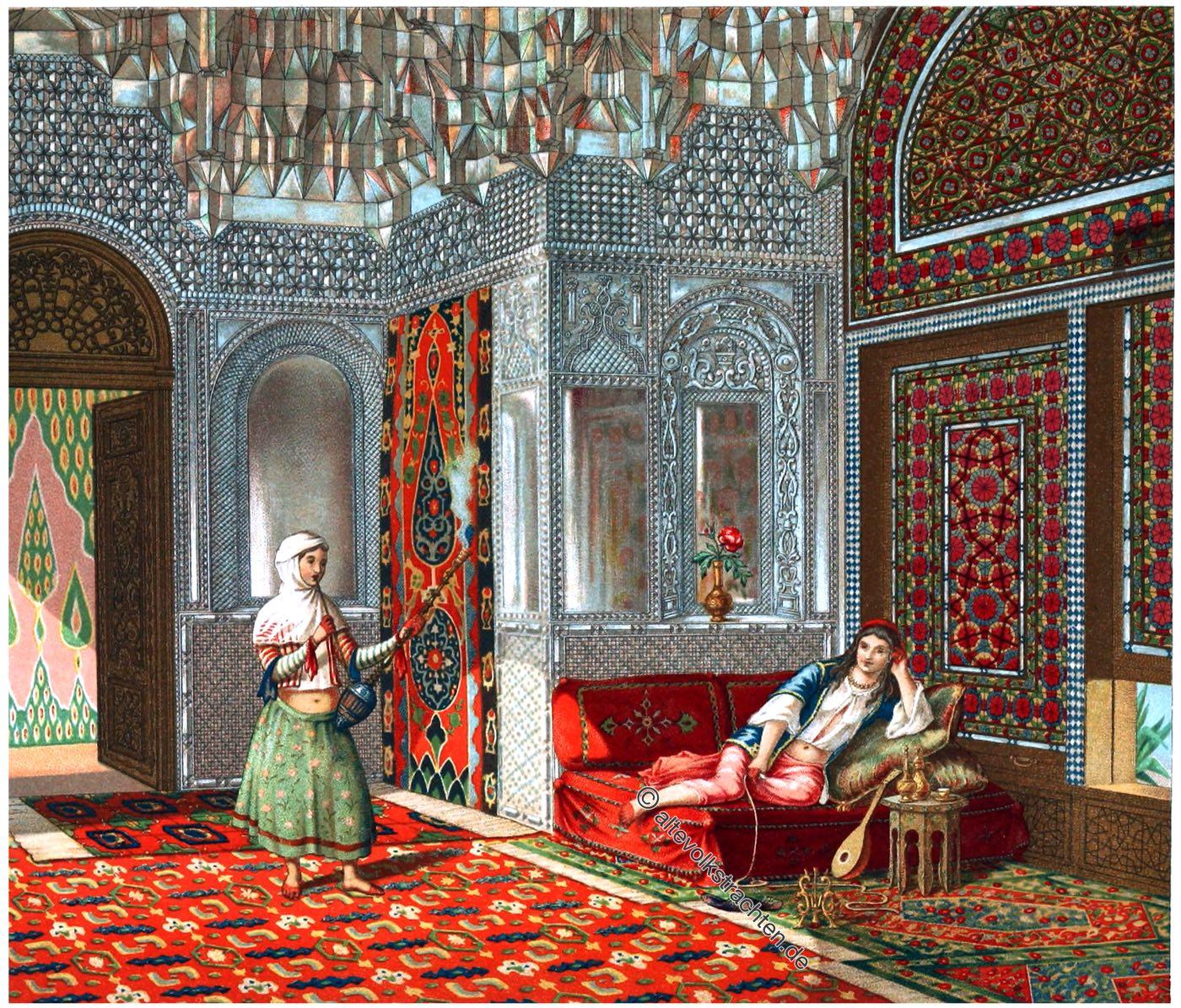 Salon, Persien, Zimmereinrichtung, Lusthaus,