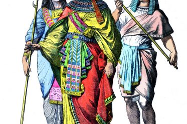 Pharao, Ägypten, Kostüm, Trachten, Kleidung, Antike
